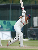 Cricket - 2021 LV=County Championship - Final Round - Day three of four - Lancashire vs Hampshire - Aigburth, Liverpool - Thursday 23rd September 2021<br /> <br /> Luke Wells of Lancashire forces the pace as Lancashire chase a target of 196 in their second innings.<br /> <br /> CreditCOLORSPORT