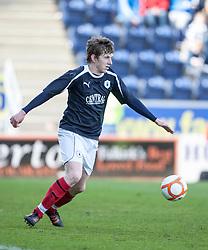 Falkirk's Blair Alston..Falkirk's Football Club's last game of season 2011-2012..Falkirk 3 v 2 Ayr United, 5/5/2012..©Michael Schofield..