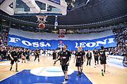 Tifosi Fortitudo<br /> Kontatto Fortitudo Bologna vs Segafredo Virtus Bologna<br /> Campionato Basket LNP 2016/2017<br /> Bologna 14/04/2017<br /> Foto Ciamillo-Castoria/A. Gilardi