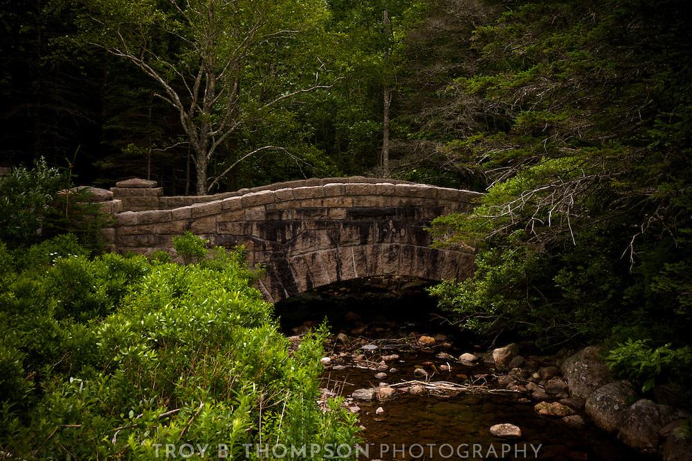 Jordan Pond Bridge.Carriage Road 14/15