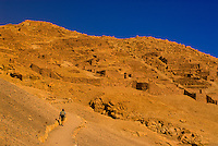 Pukara de Quitor (archaeological site), Cordillera de la Sal, Atacama Desert, Chile