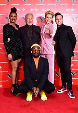 The Voice UK launch in London - 3 Jan 2019