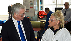Sir Michael Fallon visits MacTaggart Scott   Loanhead   2 February 2017