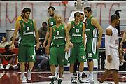 DESCRIZIONE : Milano Eurolega 2011-12 EA7 Emporio Armani Milano Panathinaikos Atene<br /> GIOCATORE : Esultanza Panathinaikos Atene<br /> CATEGORIA : Esultanza<br /> SQUADRA : Panathinaikos Atene<br /> EVENTO : Eurolega 2011-12<br /> GARA : EA7 Emporio Armani Milano Panathinaikos Atene<br /> DATA : 19/01/2012<br /> SPORT : Pallacanestro<br /> AUTORE : Agenzia Ciamillo-Castoria/L.Lussoso<br /> Galleria : Eurolega 2011-12<br /> Fotonotizia : Milano Eurolega 2011-12 EA7 Emporio Armani Milano Panathinaikos Atene <br /> Predefinita :