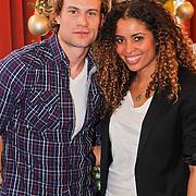 NLD/Amsterdam/20101208 - Skyradio Christmas Tree for Charity 2010, Laurette Gerards en Dirk Taat