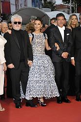 May 17, 2019 - Cannes, France, France - 72nd Cannes Film Festival 2019, Red carpet film Dolor y Gloria .Pictured  Pedro Almodovar Antonio Banderas Penelope Cruz (Credit Image: © Camilla Morandi/IPA via ZUMA Press)