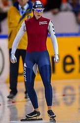 04-01-2003 NED: Europees Kampioenschappen Allround, Heerenveen<br /> 3000 m / Annamarie Thomas NED