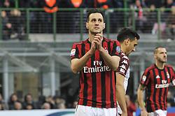 November 26, 2017 - Milan, Italy - Nikola Kalinic of AC Milan during Italian serie A match AC Milan vs Torino FC at San Siro Stadium  (Credit Image: © Gaetano Piazzolla/Pacific Press via ZUMA Wire)