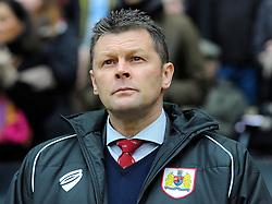 Bristol City manager, Steve Cotterill  - Photo mandatory by-line: Joe Meredith/JMP - Mobile: 07966 386802 - 07/02/2015 - SPORT - Football - Milton Keynes - Stadium MK - MK Dons v Bristol City - Sky Bet League One