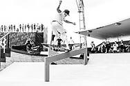 Nyjah Huston during Men's Skate Street Finals at the 2018 X Games Sydney in Sydney, Australia. ©Brett Wilhelm/ESPN