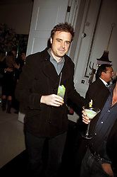 JAMIE THEAKSTON at a party to celebrate the publication of 'In Bed With' held at the Artesian Bar,The Langham Hotel, 1c Portland Placeon 11th February 2009.