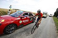 Heinrich Haussler (AUS - Bahrain - Merida) during the 105th Tour de France 2018, Stage 16, Carcassonne - Bagneres de Luchon (218 km) on July 24th, 2018 - Photo Luca Bettini / BettiniPhoto / ProSportsImages / DPPI
