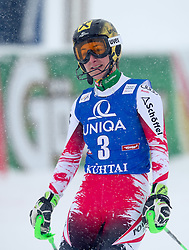 29.12.2014, Hohe Mut, Kühtai, AUT, FIS Ski Weltcup, Kühtai, Slalom, Damen, 2. Durchgang, im Bild Kathrin Zettel (AUT) // Kathrin Zettel of Austria reacts after 2nd run of Ladies Giant Slalom of the Kuehtai FIS Ski Alpine World Cup at the Hohe Mut Course in Kuehtai, Austria on 2014/12/29. EXPA Pictures © 2014, PhotoCredit: EXPA/ JFK