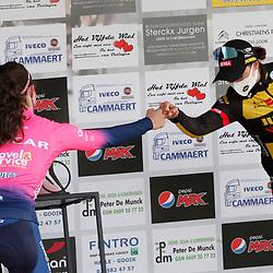 14-03-2021: Wielrennen: GP Oetingen: Oetingen: Elisa Balsamo: Marianne Vos