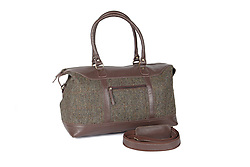Product Photo of the Brodie Harris Tweed/Leather Travel Bag