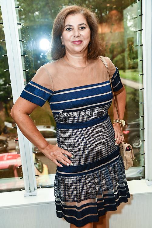 Marie Dawlatly attend the London Arabia Art & Fashion Week 2019 at Jumeirah Carlton Tower, on 5 August 2019, London, UK.