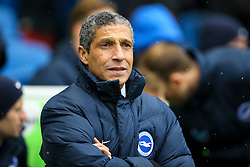 Brighton & Hove Albion manager Chris Hughton - Mandatory by-line: Jason Brown/JMP - 11/02/2017 - FOOTBALL - Amex Stadium - Brighton, England - Brighton and Hove Albion v Burton Albion - Sky Bet Championship