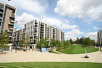 Olympic Athletes Village Oylmpic games 12/07/2012 Credit : Colorsport / Andrew Cowie<br /> Athletes Village. Housing  areas