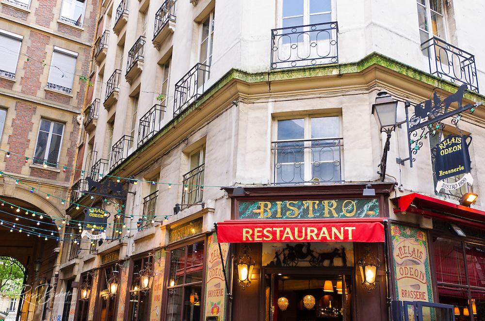 Relais Odeon Restaurant, Left Bank, Paris, France