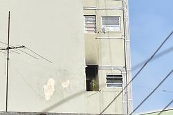 May 3, 2019 - SãO Paulo, Brazil - SÃO PAULO, SP - 03.05.2019: INCÊNDIO E VAZAMENTO DE GÁS NO CENTRO SP - Gas leak and fire in Rua das Carmelitas, downtown São Paulo, on Friday morning (3) (Credit Image: © Roberto Casimiro/Fotoarena via ZUMA Press)