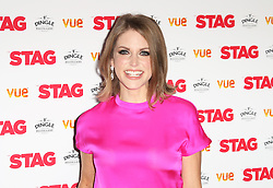 © Licensed to London News Pictures. 13/03/2014, UK. Amy Huberman, The Stag - Gala Screening, Vue Cinema Leicester Square, London UK, 13 March 2014. Photo credit : Richard Goldschmidt/Piqtured/LNP