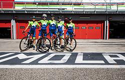 Team Slovenia: BRAVEC Urska of Slovenia, BUJAK Eugenia of Slovenia, KERN Spela of Slovenia, PINTAR Urska of Slovenia, ZIGART Urska of Slovenia during Women Elite Road Race at UCI Road World Championship 2020, on September 26, 2020 in Imola, Italy. Photo by Vid Ponikvar / Sportida