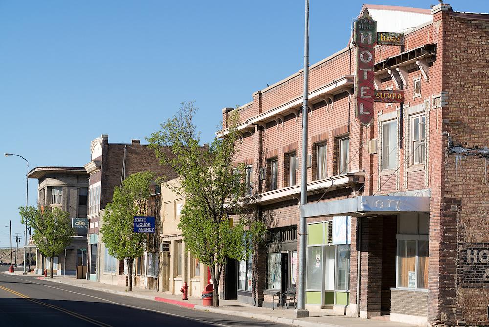 Downtown Milford, Utah.