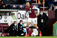 Burnley midfielder Dwight McNeil (11) during the Premier League match between Burnley and Tottenham Hotspur at Turf Moor, Burnley, England on 26 October 2020.