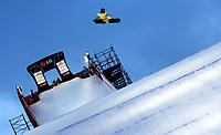 Snowboard<br /> VM 2009<br /> Gangwon Korea<br /> 24.01.2009<br /> Foto: Gepa/Digitalsport<br /> NORWAY ONLY<br /> <br /> Big Air. Bild zeigt Tore Holvik (NOR)