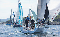 Silvers Marine Scottish Series 2017<br /> Tarbert Loch Fyne - Sailing<br /> <br /> FRA37296, Triple Elf, Christine Murray, CCC/Fairlie YC, Beneteau First 35
