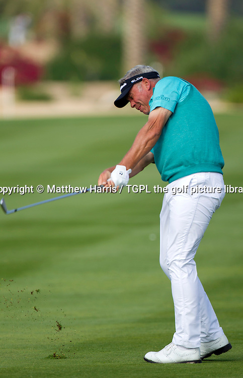 Darren CLARKE (NIR) during first round HSBC Abu Dhabi Championship 2014,Abu Dhabi Golf Club,Abu Dhabi,UAE.