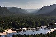 Potaro River<br /> Pakaraima mountains<br /> GUYANA<br /> South America