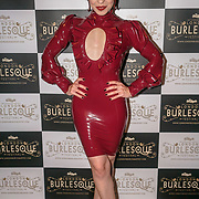 Prefomer Louise L'Amour , Portugal at the London Burlesque Festival the VIP Opening Gala at Conway Hall on 18th May 2017, UK. by See Li