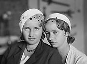 Edith and Erica Piesslinger, Austria, 1928