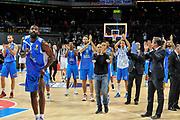 DESCRIZIONE : Eurolega Euroleague 2014/15 Gir.A Real Madrid - Dinamo Banco di Sardegna Sassari<br /> GIOCATORE : Team<br /> CATEGORIA : Delusione Saluti<br /> SQUADRA : Dinamo Banco di Sardegna Sassari<br /> EVENTO : Eurolega Euroleague 2014/2015<br /> GARA : Real Madrid - Dinamo Banco di Sardegna Sassari<br /> DATA : 05/11/2014<br /> SPORT : Pallacanestro <br /> AUTORE : Agenzia Ciamillo-Castoria / Luigi Canu<br /> Galleria : Eurolega Euroleague 2014/2015<br /> Fotonotizia : Eurolega Euroleague 2014/15 Gir.A Real Madrid - Dinamo Banco di Sardegna Sassari<br /> Predefinita :