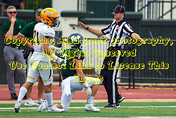 BLOOMINGTON, IL - September 28:  Drew Ison during a college football game between the IWU Titans and the Augustana Vikings on September 28 2019 at Wilder Field in Tucci Stadium in Bloomington, IL. (Photo by Alan Look)