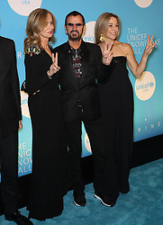 Barbara Bach, Ringo Starr and Sheryl Crow at the UNICEF USA's 14th Annual Snowflake Ball in New York City.