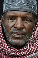 Porträt eines Äthiopiers im Dorf Digero in der Arsi Region