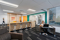 Interior design image of the Innovation Center at the Howard County Economic Development offices in Columbia MD by Jeffrey Sauers of CPI Productions