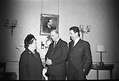 1967 - 13/05 Brendan O'Dowd at Áras