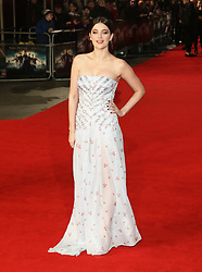 Millie Brady, Pride And Prejudice And Zombies - European Film Premiere,  Leicester Square, London UK, 1 February 2016, Photo by Richard Goldschmidt /LNP © London News Pictures