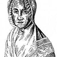 Arndt, Ernst Moritz, 26.12.1769 - 29.1.1860, German author / writer, poet, his mother Wilhelmina Friederica Eleonora Dorothea (1743 - 1804), portrait, woodcut,<br /> <br /> Photograph by INTERFOTO / Sammlung Rauch/Writer Pictures<br /> <br /> UK RIGHTS ONLY - NO AGENCY SALES UK RIGHTS ONLY / NO FOREIGN SALES / NO FOREIGN AGENT SALES