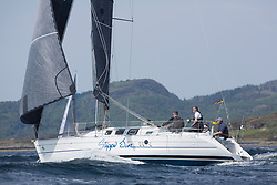 Sailing - SCOTLAND  - 27th May 2018<br /> <br /> 3rd days racing the Scottish Series 2018, organised by the  Clyde Cruising Club, with racing on Loch Fyne from 25th-28th May 2018<br /> <br /> GBR7892T, Slippi Jin, David & Karen Parker, Dalgety Bay SC, First 35S5<br /> <br /> Credit : Marc Turner<br /> <br /> Event is supported by Helly Hansen, Luddon, Silvers Marine, Tunnocks, Hempel and Argyll & Bute Council along with Bowmore, The Botanist and The Botanist