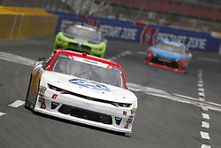 May 26, 2018 - Concord, North Carolina, United States of America - Vinnie Miller (01) brings his race car down the front stretch during the Alsco 300 at Charlotte Motor Speedway in Concord, North Carolina. (Credit Image: © Chris Owens Asp Inc/ASP via ZUMA Wire)