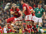 Evan Olmstead of Canada (l) in action during the 2016 Guinness Series  autumn international rugby match, Ireland v Canada at the Aviva Stadium in Dublin, Ireland on Saturday 12th November 2016.<br /> pic by  John Halas, Andrew Orchard sports photography.