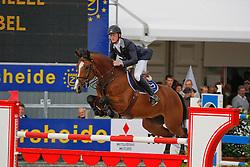 Bruynseels Niels (BEL) - Bernardo vd Helle<br /> CDN Herentals 2008<br /> Photo Copyright Hippo Foto