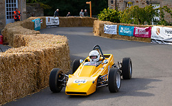 Boness Revival hillclimb motorsport event in Boness, Scotland, UK. The 2019 Bo'ness Revival Classic and Hillclimb, Scotland's first purpose-built motorsport venue, it marked 60 years since double Formula 1 World Champion Jim Clark competed here.  It took place Saturday 31 August and Sunday 1 September 2019. 64. Andrew Paterson. Lotus Type 61