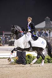 Gal Edward (NED) winner of the Grand Prix Freestyle with Moorlands Totilas<br /> Alltech FEI World Equestrian Games <br /> Lexington - Kentucky 2010<br /> © Dirk Caremans