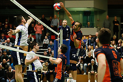 20170125 NED: Beker, Sliedrecht Sport - Seesing Personeel Orion: Sliedrecht<br />Ryan Anselma (1) of Seesing Personeel - Orion<br />©2017-FotoHoogendoorn.nl / Pim Waslander