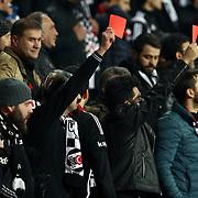 Besiktas's and Genclerbirligi's during their Turkish Super League soccer match Besiktas between Genclerbirligi at the Basaksehir Fatih Terim arena in Istanbul Turkey on Monday, 22 February 2016. Photo by Aykut AKICI/TURKPIX